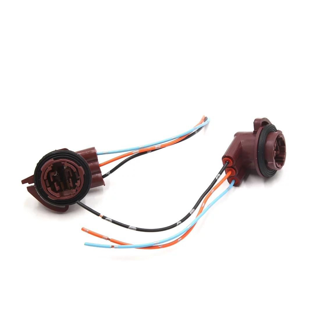 2pcs 3157 brake light bulb extension wiring harness socket connector for car walmart canada [ 1100 x 1100 Pixel ]