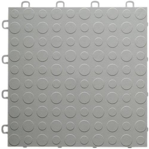 Blocktile Modular Interlocking Garage Floor Tiles Set Of 30 12 X 12 Each Walmart Com Walmart Com