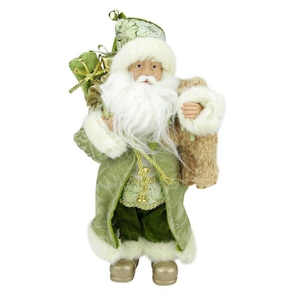 Northlight 12 In. St. Patricks Irish Standing Santa Claus