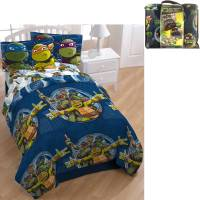 Nickelodeon Teenage Mutant Ninja Turtle Bed in a Bag 5