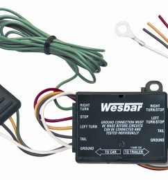 wesbar 2823285 combination under 80 trailer tail light kit with 25 wire harness walmart com [ 1500 x 1037 Pixel ]
