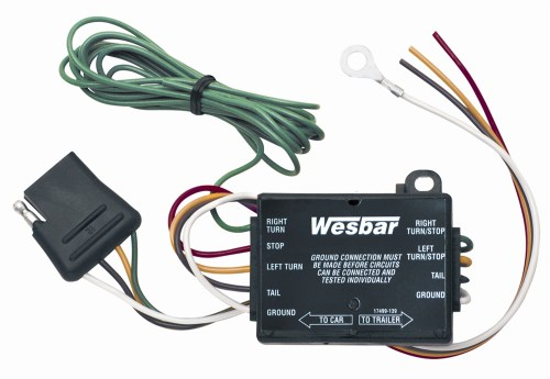 small resolution of wesbar 2823285 combination under 80 trailer tail light kit with 25 wire harness walmart com