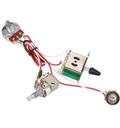 yosoo electric guitar metallic wiring harness prewired kit 3 way switch pots set 3 way zoomed image [ 1001 x 1001 Pixel ]