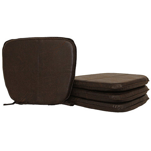 Hometrends Faux Leather Chair Pad  Walmartcom