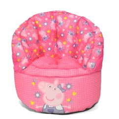 Bean Bag Chair For Toddler Small Accent Chairs Uk Peppa Pig Kids 784857763652 Ebay