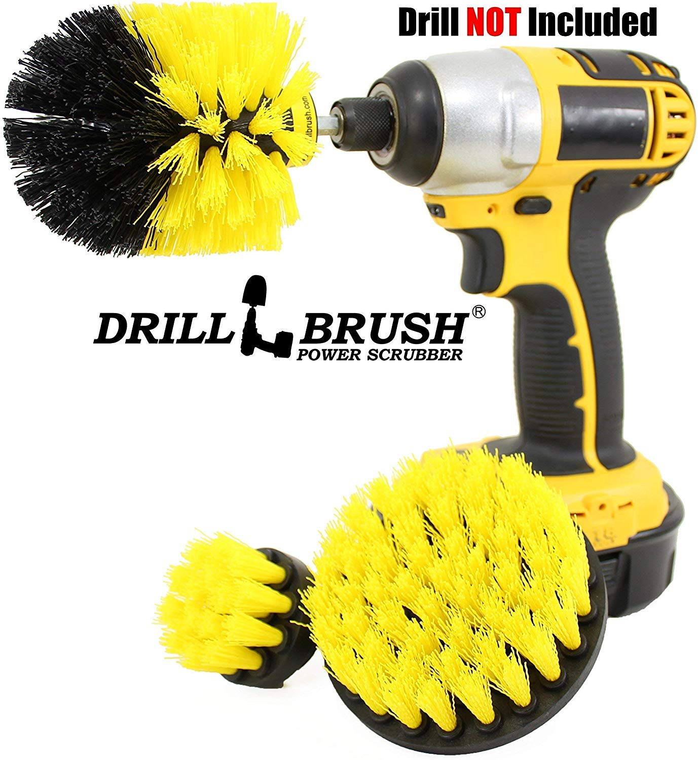 drill brush attachment bathroom surfaces tub shower tile and grout all purpose power scrubber cleaning kit for your cordless drill power scrubber