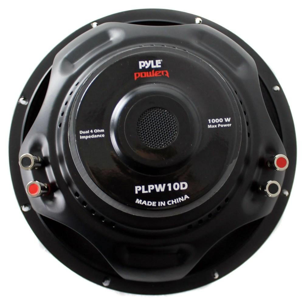 medium resolution of pyle subwoofer wiring diagram