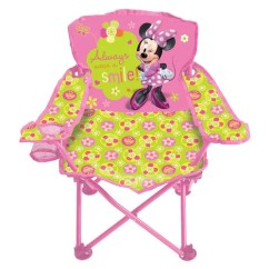 Minnie Mouse Folding Chair Durable Office Chairs Reviews Disney Bow Tique Fold N Go Walmart Com