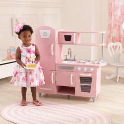 Kid Craft Kitchen Tables & More Kidkraft Vintage Play Pink Walmart Com