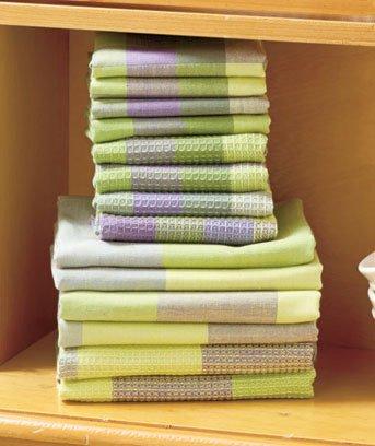14Pc Woven Kitchen Towel Sets Lavender  Walmartcom