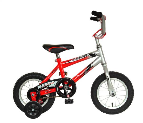 12 Boys Bicycles with Training Wheels