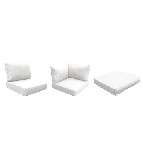 white lounge chair cushions ikea folding chairs sol 72 outdoor fairfield 16 piece cushion set walmart com