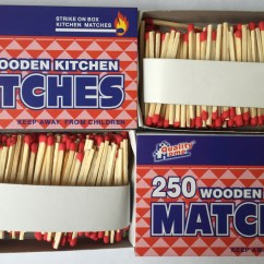 Kitchen Matches Decor Sets Quality Home Strike On Box Wooden Pack Of 1 000 Free Shipping