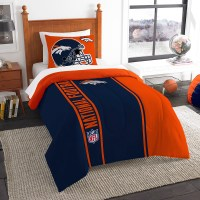 "Denver Broncos NFL Twin Comforter Set (Soft & Cozy) (64"" x ..."