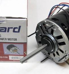3 speed furnace blower fan motor packard 43595 1 hp 1075 rpm 115 volt 48 frame walmart com [ 2306 x 1290 Pixel ]