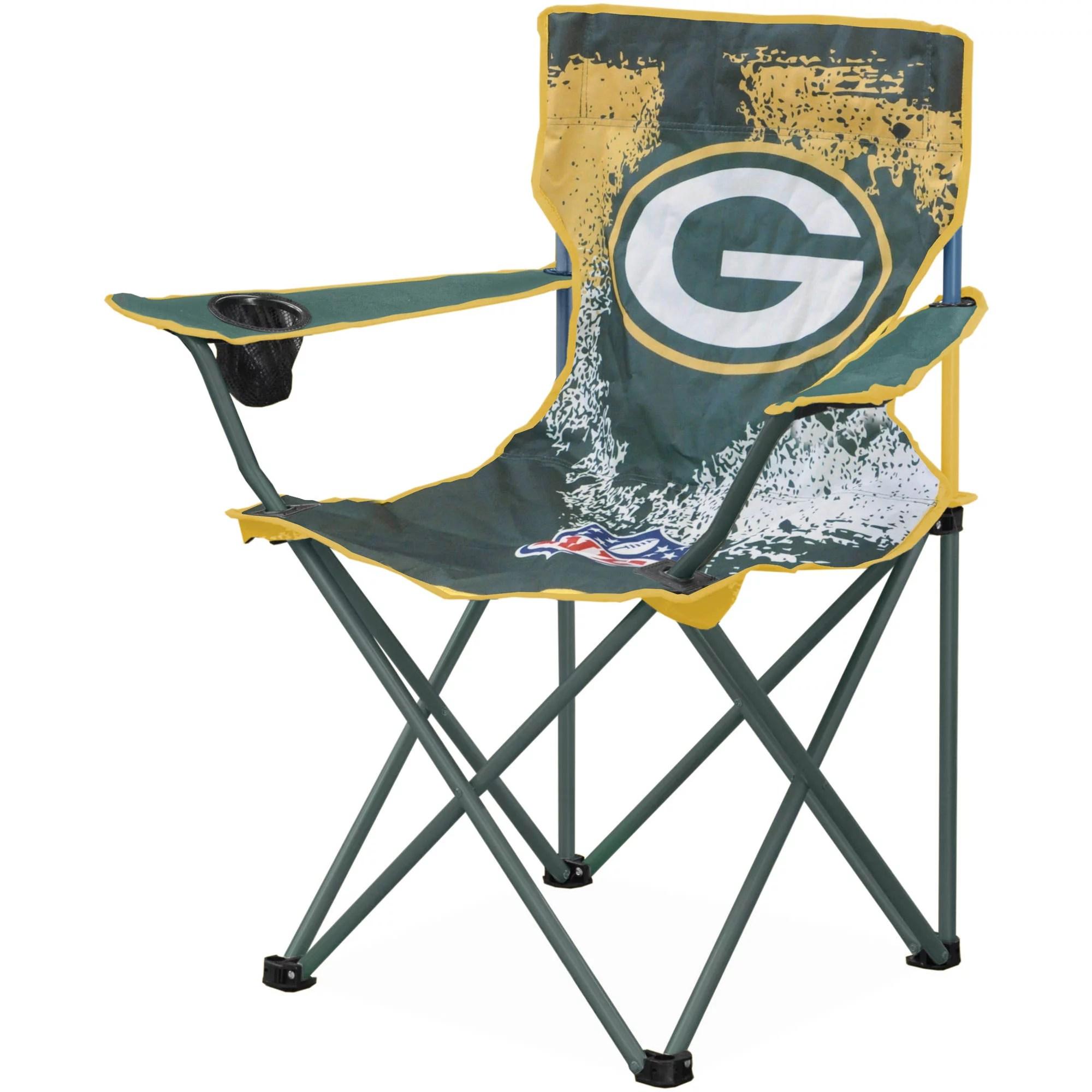 green bay packers chair custom outdoor cushions covers nfl tween camp walmart com