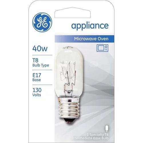 ge 40w appliance bulb clear t8 n 1 pack