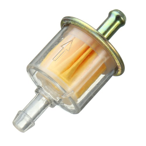 small resolution of motorcycle in line petrol fuel filter 5 16 8mm motorbike pit dirt bike atv scooter abs plastic walmart com