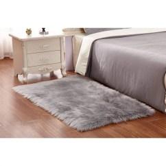 Shaggy Rugs For Living Room North Shore Dark Brown Set Faux Fur Rug Tayyakoushi 60 X 90 Cm Soft Fluffy Sheepskin