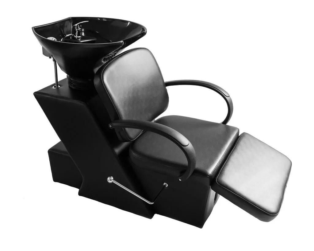 shampoo sink and chair chevron dining covers barberpub backwash wash washer spa salon station barber w bowl 9051