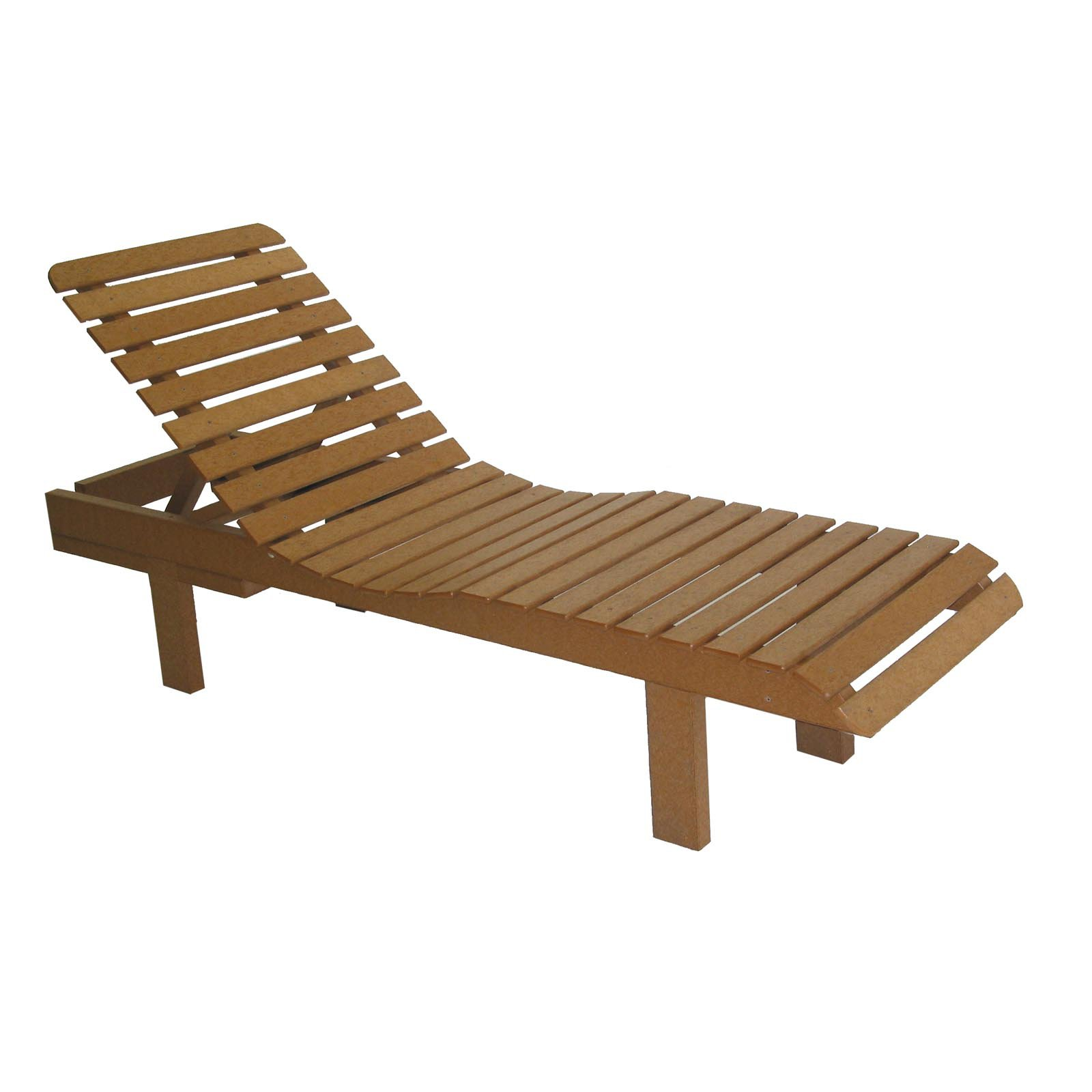 Avalon Recycled Plastic Chaise Lounge  Walmartcom