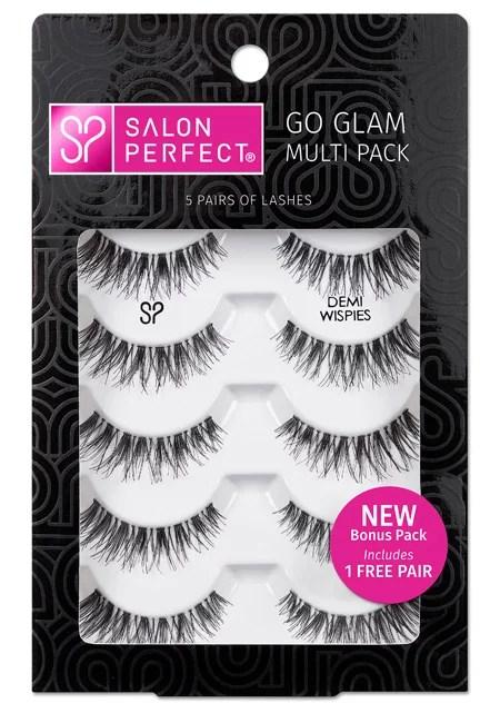 Salon Perfect Perfectly Glamorous Multi Pack Eyelashes