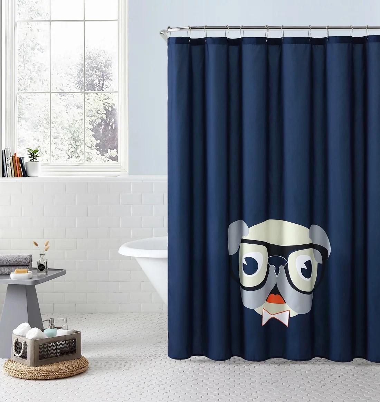 hookless shower curtains on walmart