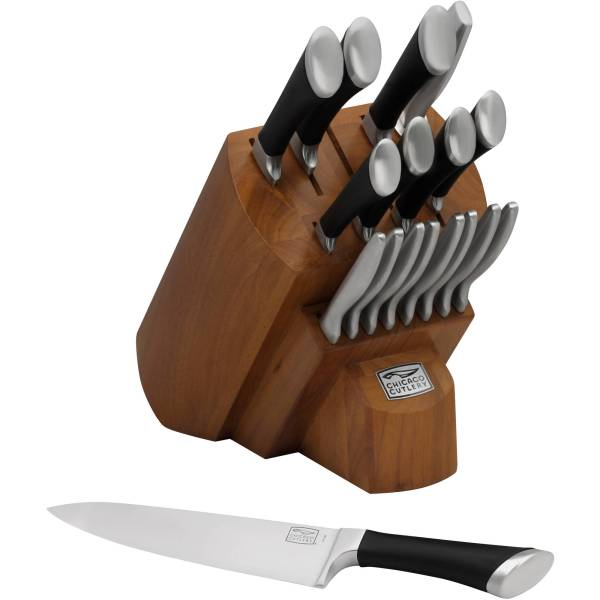 Chicago Cutlery Fusion Knife Set Block