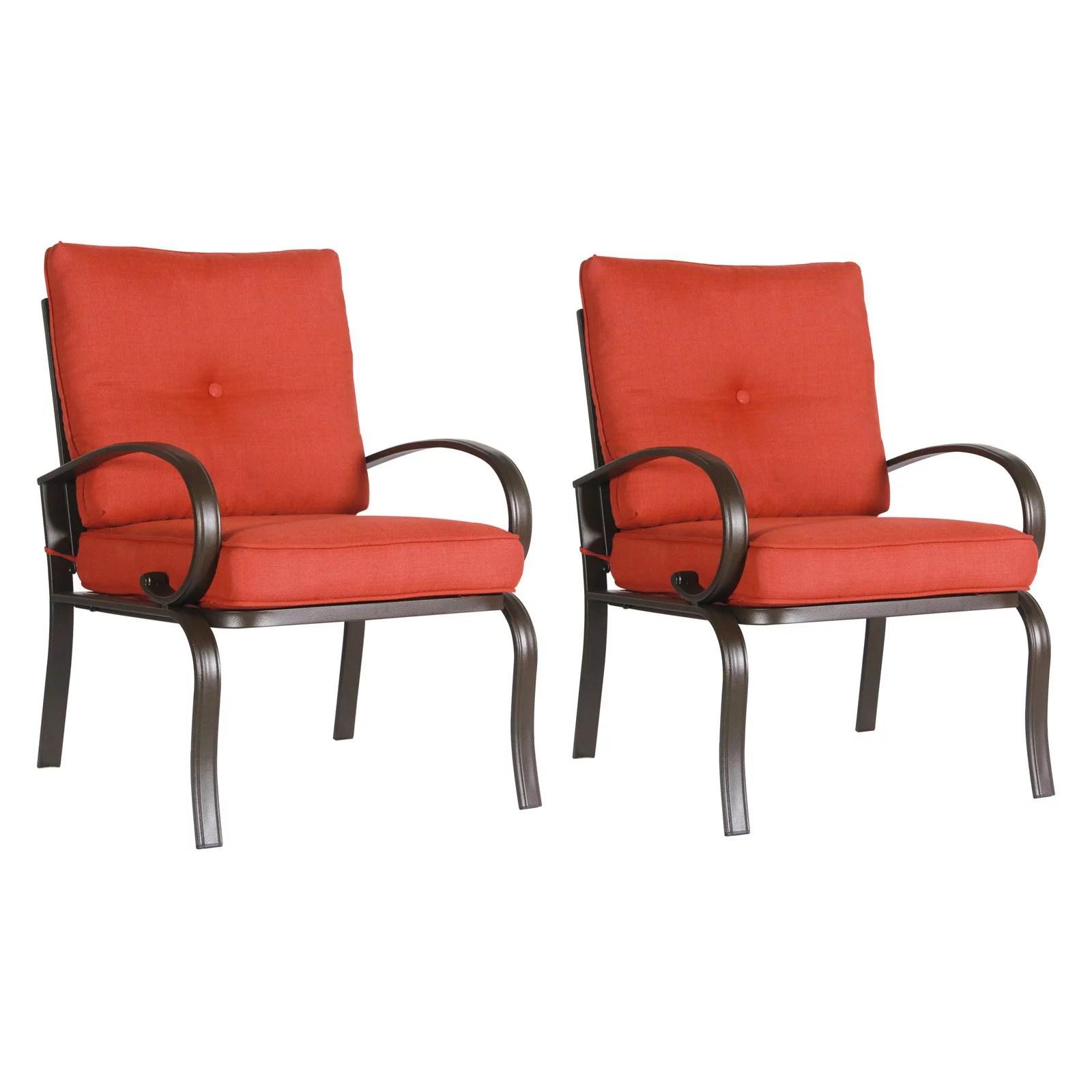 patio club chair diy adirondack chairs plans cloud mountain wrought iron dining set of 2 walmart com