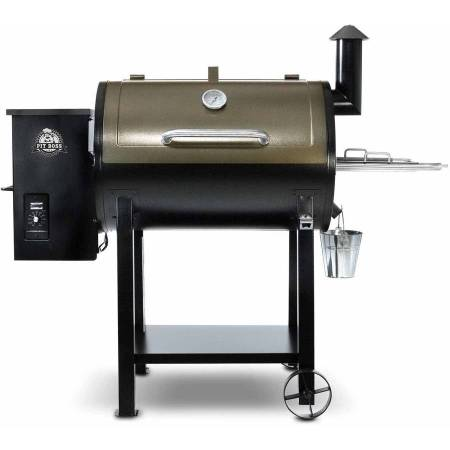 Pit Boss 820 Wood Fired Pellet Grill w/ Flame Broiler