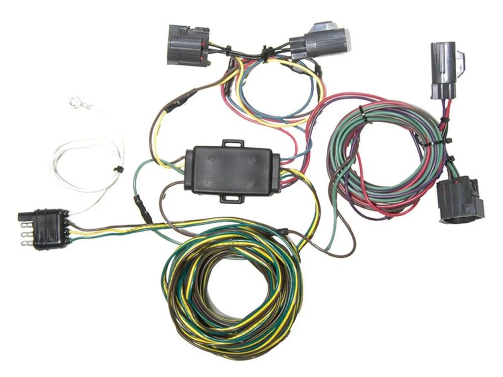 medium resolution of blue ox bx88314 ez light wiring harness kit fits 12 15 cr v walmart com