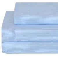 Tommy Hilfiger Bed Sheet Set Ithaca Stripe Flannel Bedding ...