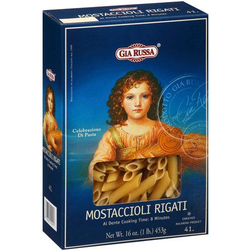 Gia Russa Mostaccioli Rigati Pasta 16 oz Walmartcom