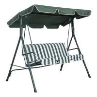 Malibu 2 Seater Garden Swing Seat Replacement Canopy ...