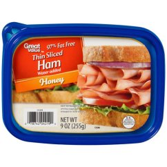 Camping Chairs At Walmart Reclining Office Chair Target Great Value Thin Sliced Honey Ham, 9 Oz - Walmart.com