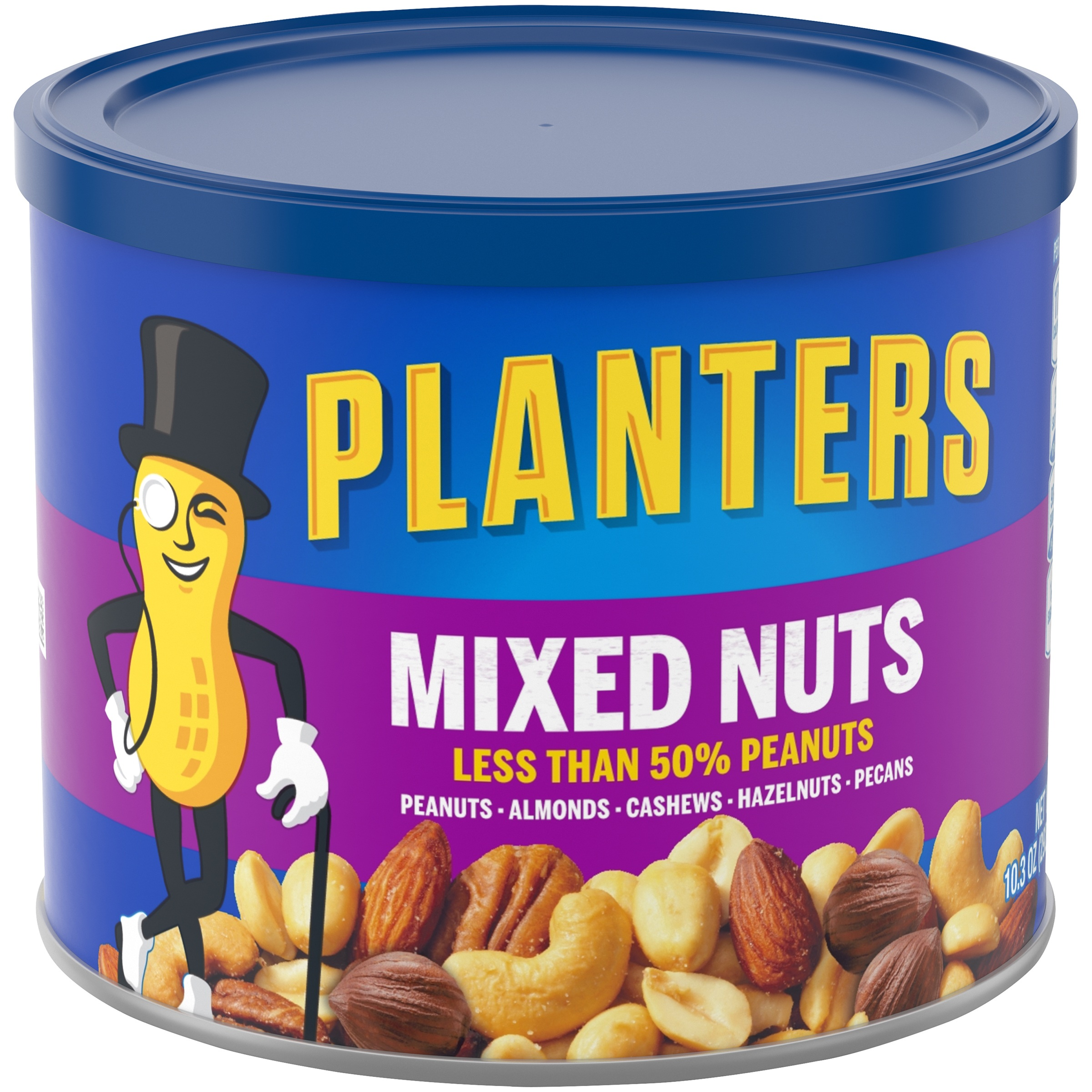 Planters Mixed Nuts 103 oz Canister Walmartcom