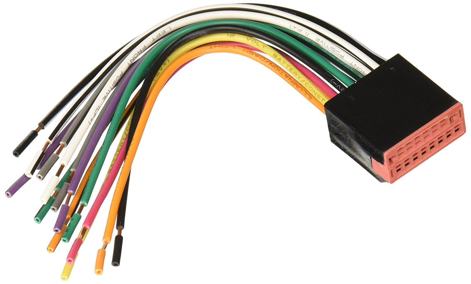 reverse wiring harness for 1998 up ford power 4 speaker connector auto wiring harness connectors 1998 ford wiring harness connectors [ 1500 x 904 Pixel ]