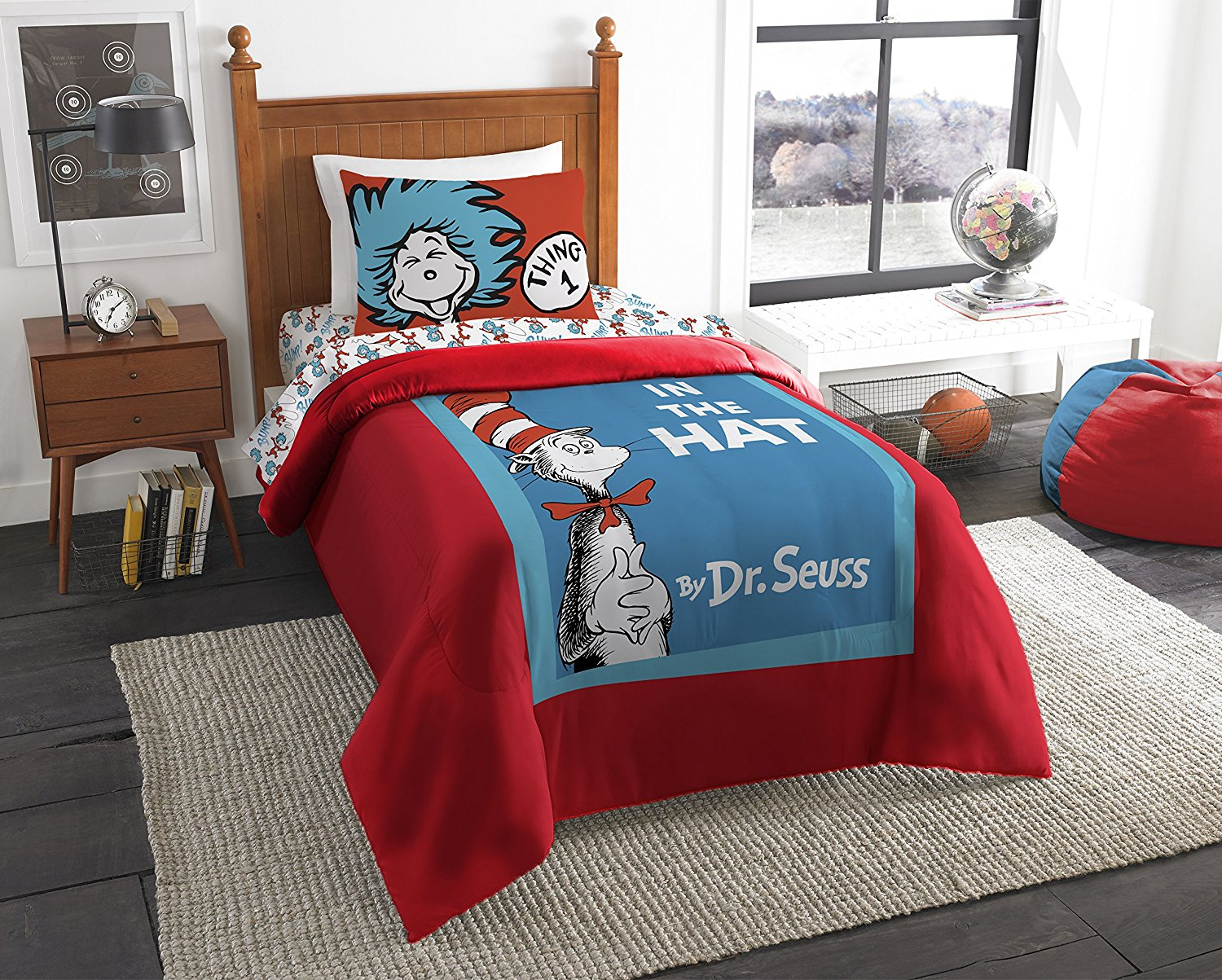 Dr Seuss Cat In The Hat Covers Twin Comforter By The