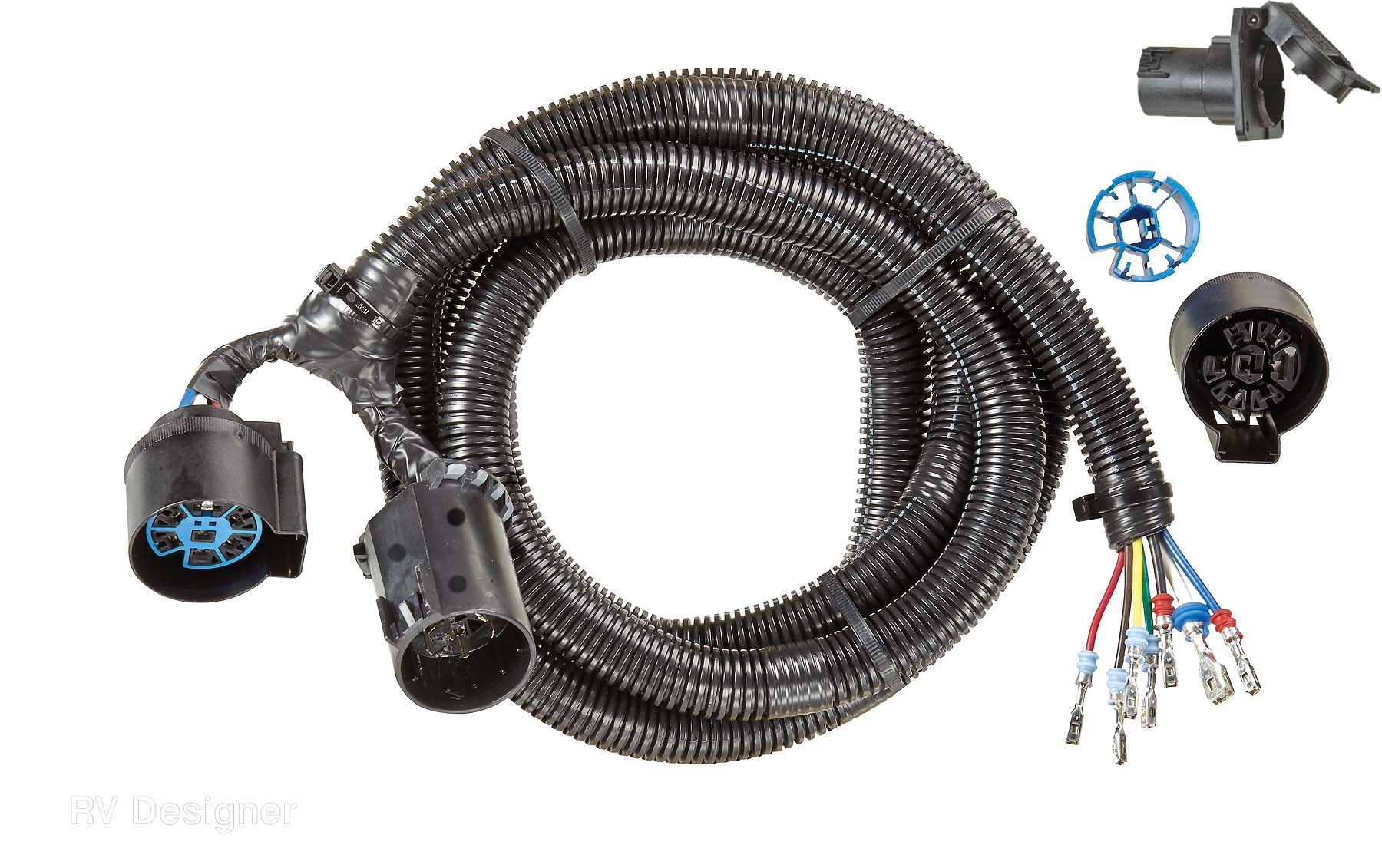medium resolution of rv designer trailer wiring connector kit p935 end type t connector walmart canada