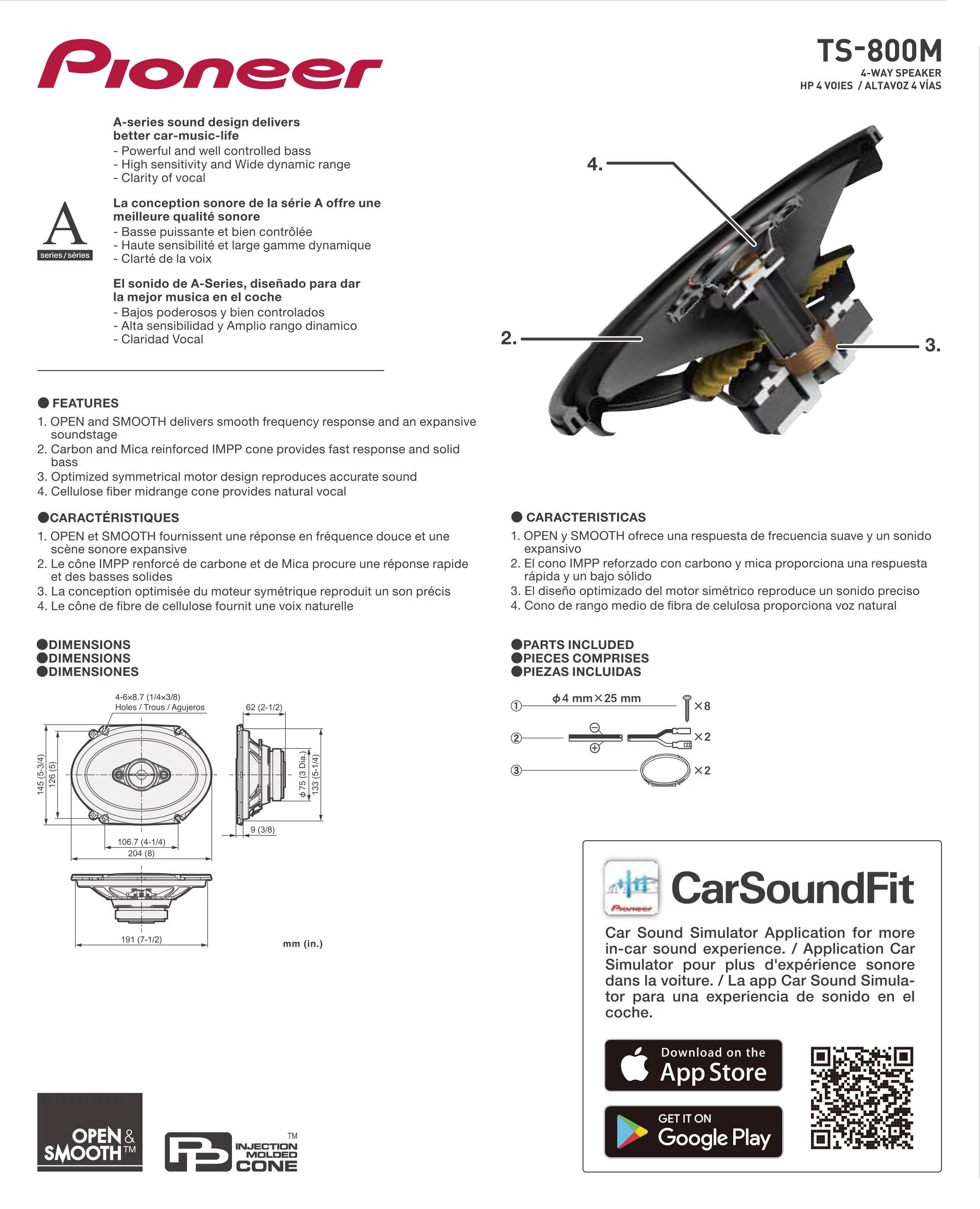 Pioneer Car Speaker Wiring Diagram