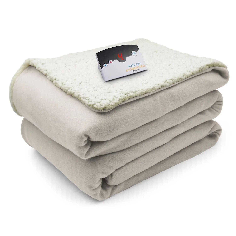 Biddeford Comfort Knit Electric Heated Blanket - Walmart.com