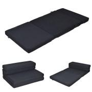 New Mtn G Queen Size 4 Quart Fold Foam Folding Mattress Futon Sleepover