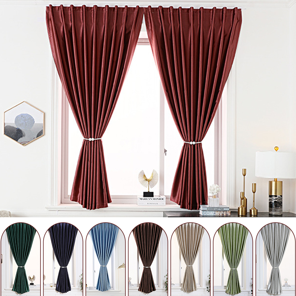 Find all the inspiration you need for the best bedroom curtains right here. Yipa Modern Blackout Curtains Window For Living Room Thick Curtain For Bedroom Shading Drapes Blinds For Kitchen Curtains Walmart Com Walmart Com