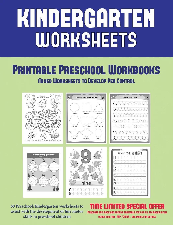 Printable Preschool Workbooks Printable Preschool