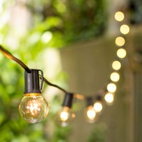 Patio & Bistro Lights Globe String Lights 1.5 Inch E17 ...