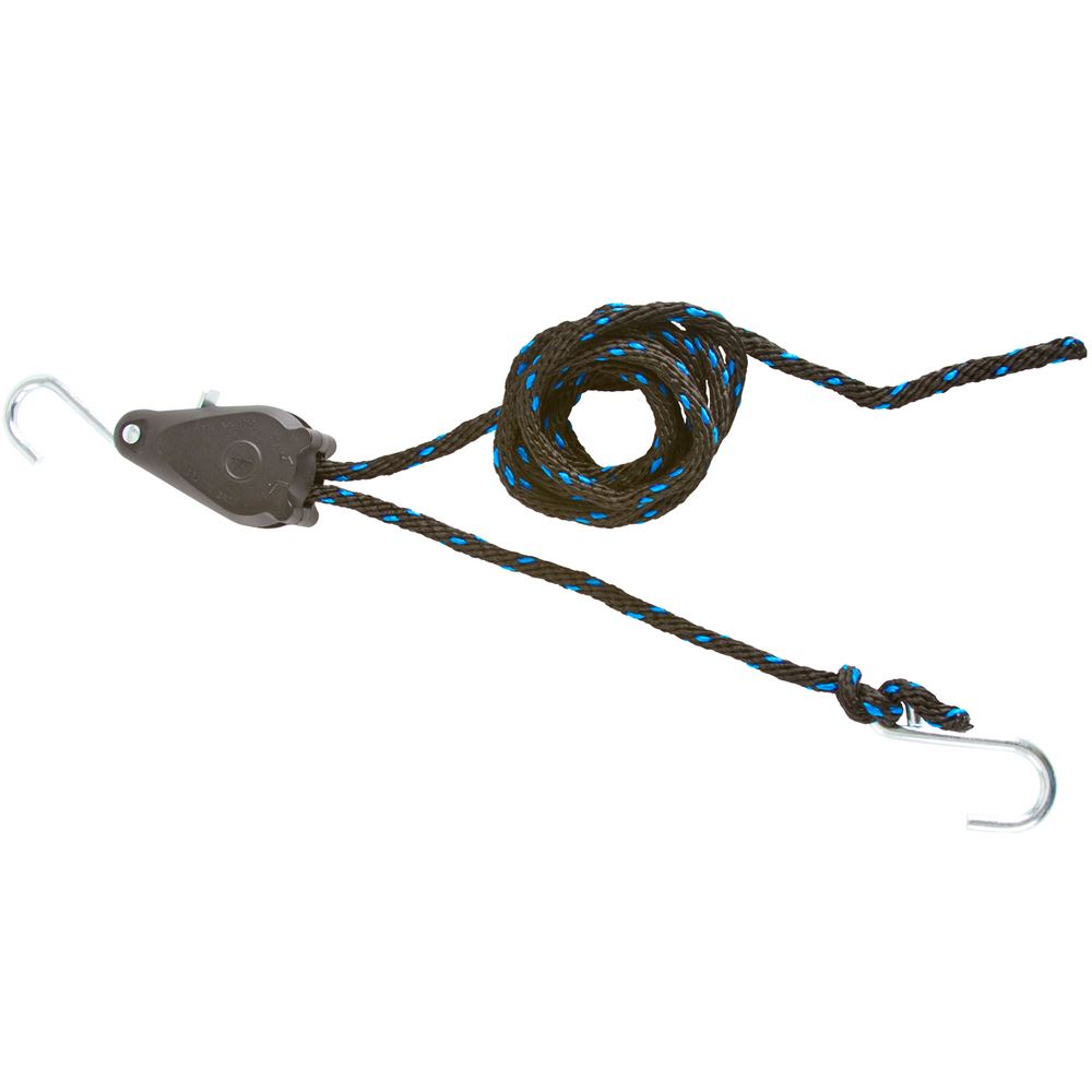 hight resolution of long 3 8 rope lock tie down pulley ratchet walmart com