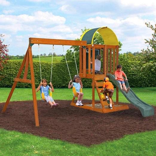kidkraft ainsley wooden swing
