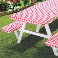 Deluxe Picnic Table Cover (Set of 3) - Walmart.com