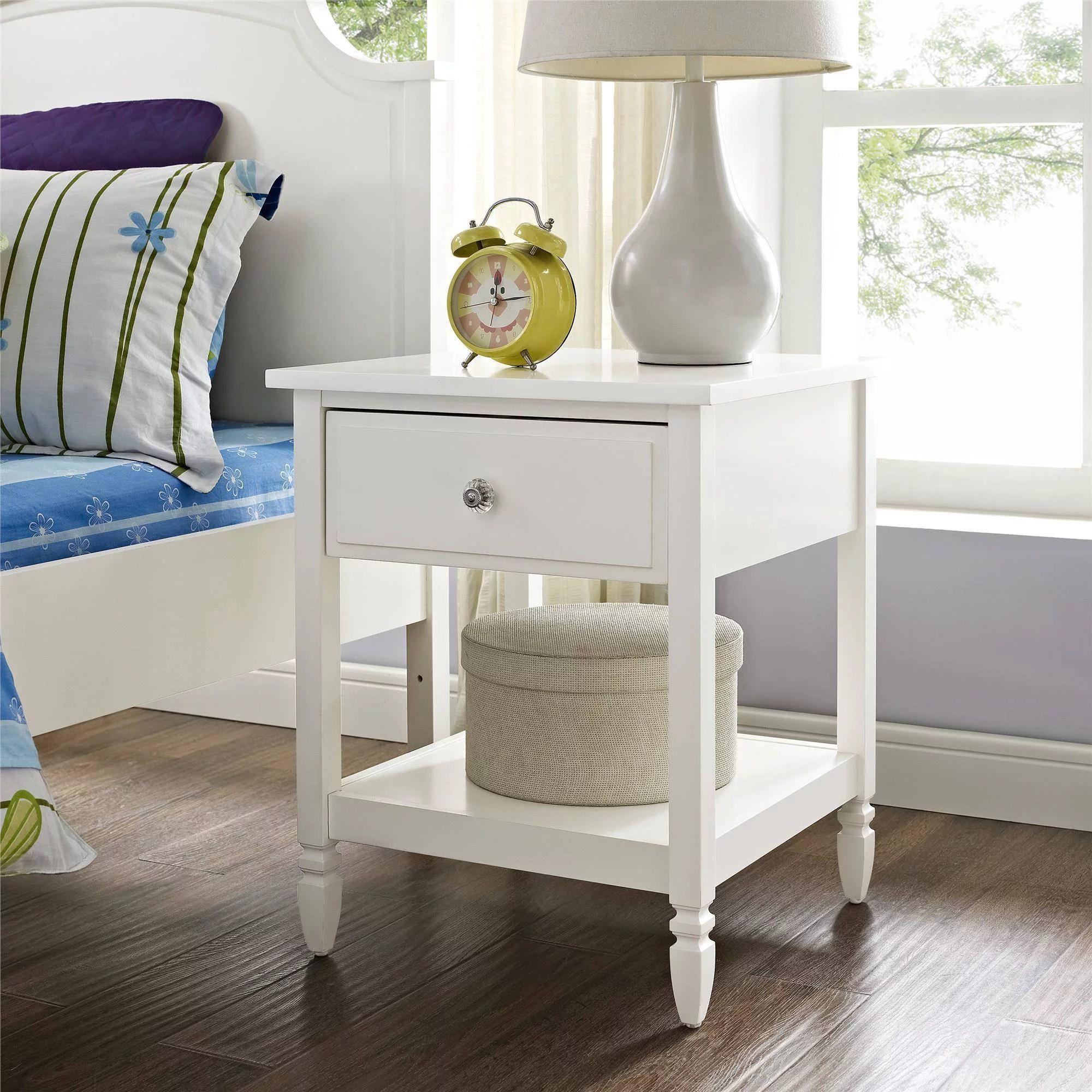 better homes and gardens lillian nightstand white walmart com