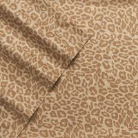 Juicy Couture Cheetah Animal Print Cotton Sheet Set Twin ...